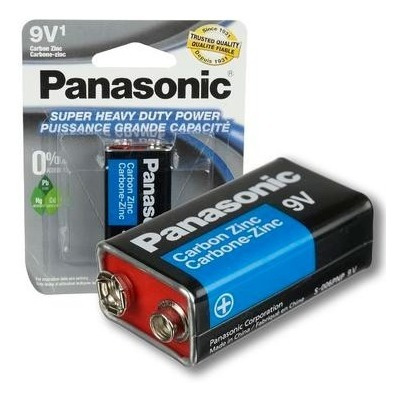 Pila Bateria 9v Panasonic Somos Tienda -