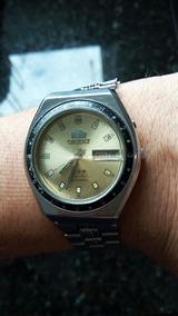 Lindo Relógio Orient 21 Rubis Mostrador Dourado