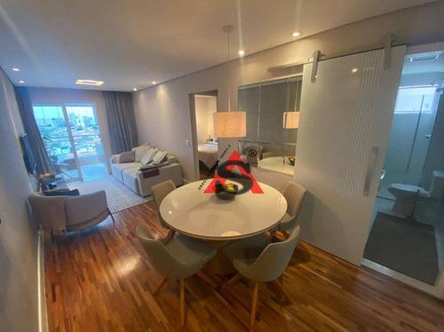 Apartamento Com 2 Dormitórios À Venda, 68 M² Por R$ 699.000,00 - Alto Do Ipiranga - São Paulo/sp - Ap38907