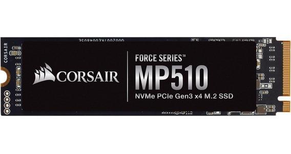 Hd Ssd Corsair Force Mp510 480gb M.2 2280 Pci-e 3.0 X4 Nvme