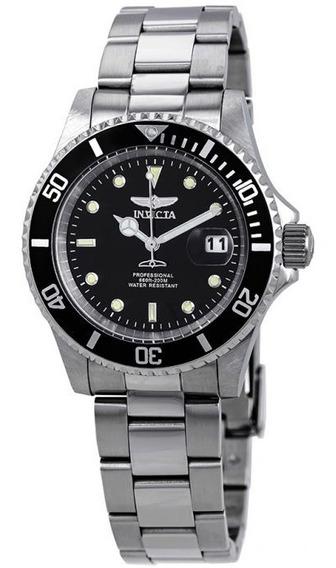 Relógio Invicta 26970 Pro Diver Quartz Prata Preto Original