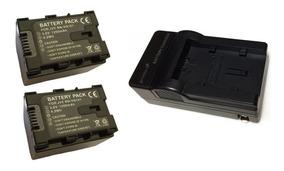 Kit 2 Baterias Bn-vg121 + Carregador Para Jvc