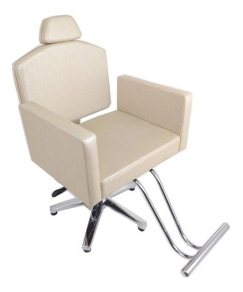 Poltrona Cadeira Reclinável Heidi Móveis Salão E Maquiagem