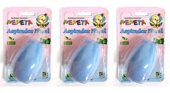 Pepeta 1100 Aspirador Nasal Infantil (kit C/03)