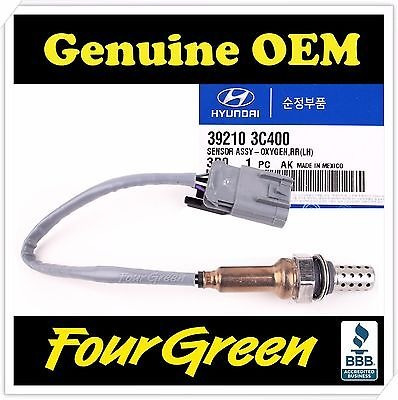 39210 3C400 Genuine OEM Oxygen Sensor O2 Sensor Lower for Kia 2006 2010 Sedona