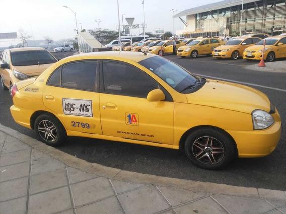 Taxi Kia Rio 2012 Full Equipo Valor 45.000.000