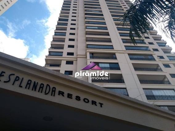 Apartamento Com 4 Dormitórios À Venda, 157 M² Por R$ 1.250.000,00 - Jardim Esplanada - São José Dos Campos/sp - Ap11601