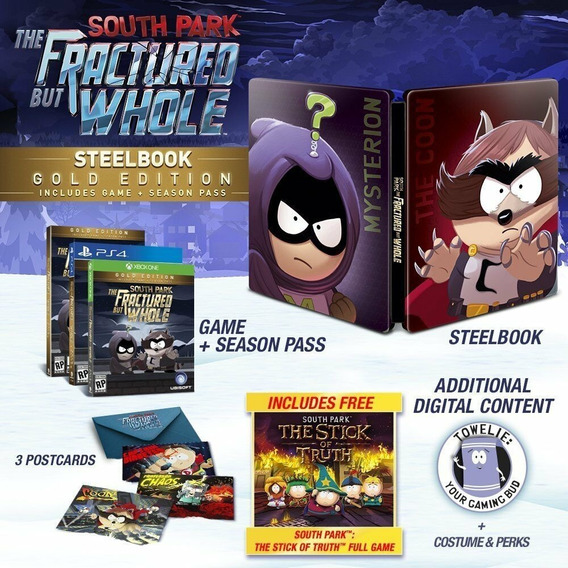 South Park Fractured But Whole Steelbook Gold Ed - Xbox One
