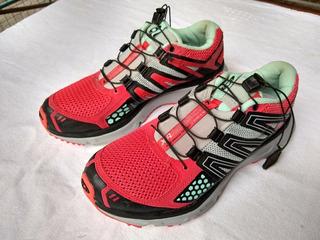 Salomón -zapatillas De Correr Mujer -38.50 -casi Nuevas !!!