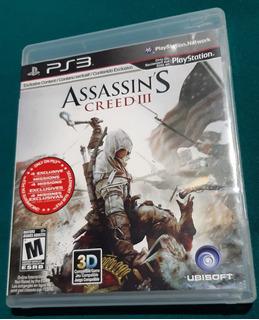 Assassins Creed 3 Ps3 En Perfectas Condiciones