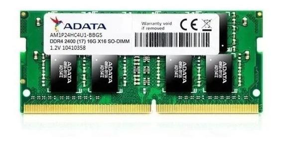 Memória Ram Notebook 1x4 Gb 2400mhz Adata Ddr4