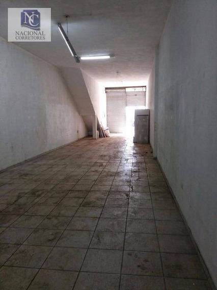 Salão Comercial Para Locação, Vila Industrial, São Paulo. - Sl0695