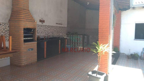 Casa Com 2 Dormitórios À Venda, 77 M² Por R$ 230.000,00 - Jardim Godoy - Bauru/sp - Ca3347