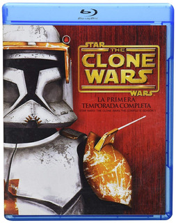 The Clone Wars Guerra Clones Primera Temporada 1 Uno Blu-ray