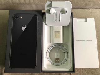 iPhone 8 Preto Garantia Ate Dez/2018