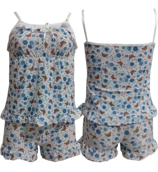 Baby Doll Infantil Kit Com 5 Roupa De Dormir Atacado Fábrica