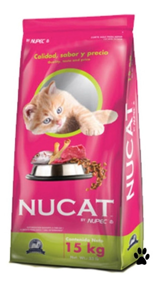 Nucat 15kg By Nupec Alimento Para Gato :)