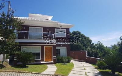 Casa De 3 Quartos Toda Mobiliada No Condomínio Pedra Da Mata No Flamengo - Maricá