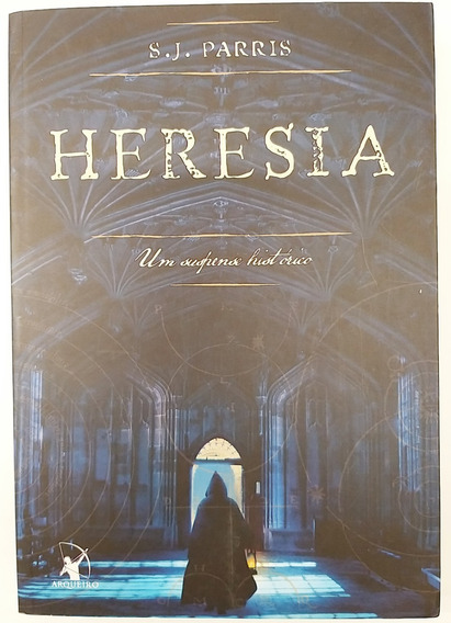 Livro Heresia - S. J. Parris - Usado Ótimo Estado Nunca Lido