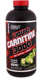 L-carnitina Liquida 3000mg 480 Ml Nutrex Importado Eua