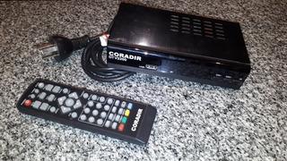 Decodificador Tda + Antena Tv