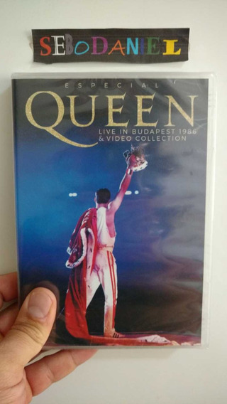Dvd Queen Live In Budapest 1986 E Video Collection - Lacrado