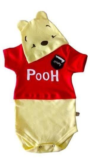 Body Ursinho Pooh Fantasia Ursinho Pooh