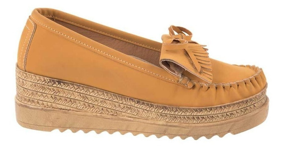 Zapato Comodo Moda Suela Alta De Mujer Shosh