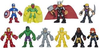 Juego De Superheroes De Marvel 10 Pzas Playskool