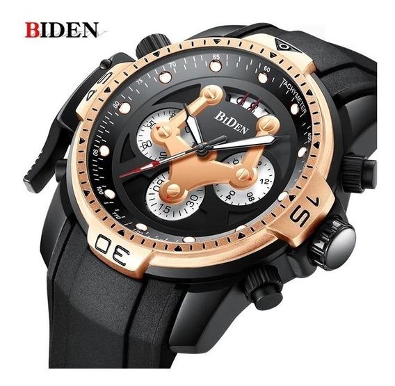 Relógio Masculino Biden 100% Funcional Esportivo Original