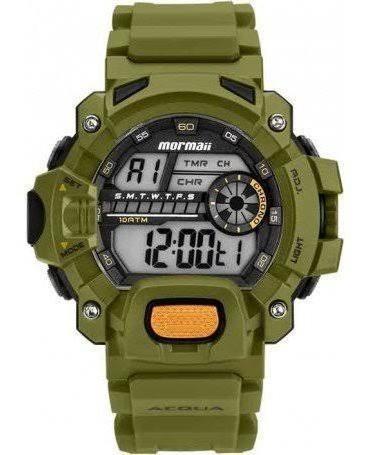 Relógio Mormaii Mozm1132/8v Digital - Verde