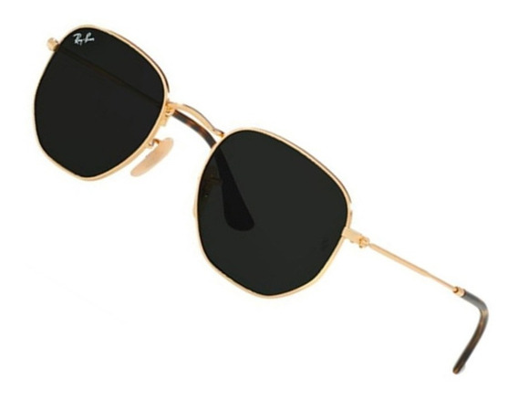 Óculos Hexagonal Feminino Masculino Promoção Black Friday