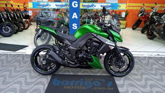 Kawasaki Z 1000 Abs 2013 Verde Baixo Kms Impecável