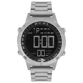 Relógio Mormaii Masculino Pro Prata