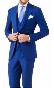 Terno Slim Fit Gazbu Blazer E Calça