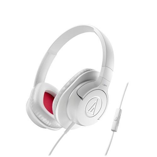 Fone De Ouvido Audio Technica Ath Ax1is Branco | Original