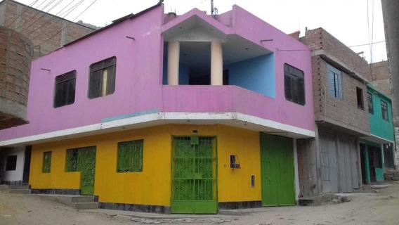 Casa 02 Pisos, Cochera, Palco Y Azotea