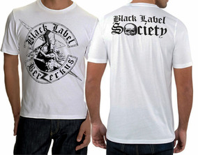 Camisa,camiseta - Black Label Society Berserk Branca