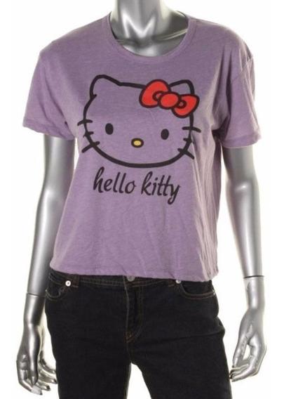 Polera Mujer Hello Kitty By Sanrio F2221alk1 Talla Xs