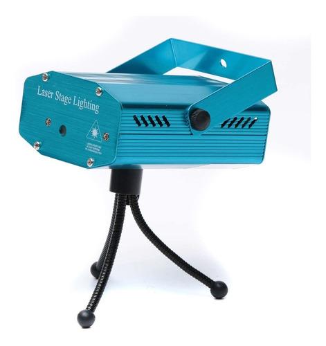 Mini Proyector Laser Ritmica  Luces Sicodelicas