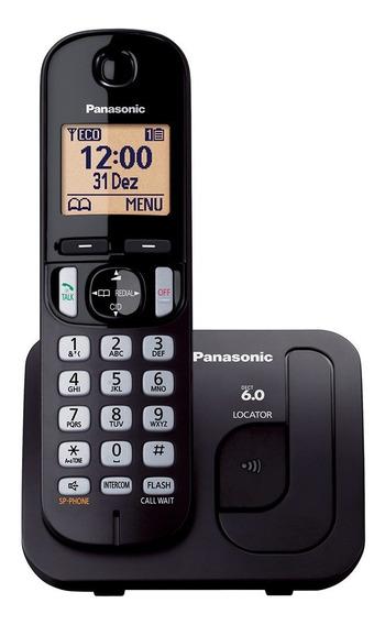 Telefone Sem Fio Kx-tgc210lbb Dect 6.0, Viva-voz - Panasonic