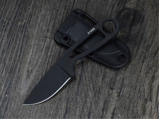 Faca Karambit Pescoço Black Lâmina Fixa 440 +bainha - C/ Nfe
