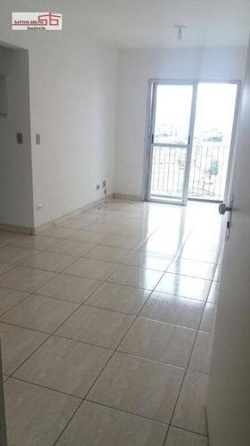 Apartamento Com 2 Dormitórios À Venda, 52 M² Por R$ 275.000,00 - Freguesia Do Ó - São Paulo/sp - Ap1793