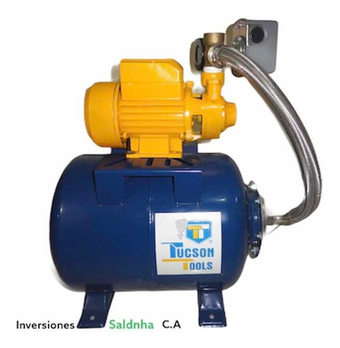 Kit Hidroneumatico Bomba De Agua Pulmon 24 Litros Presostato