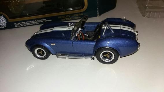 Shelby Cobra 427 S/c 1964 Road Tough Esncala 1/18 Miniatura
