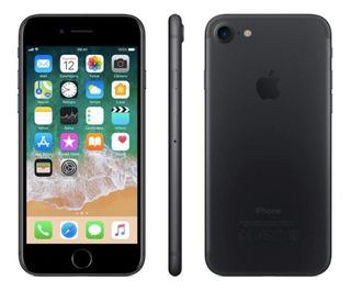 iPhone 7 32gb Preto Anatel Lacrado 1 Ano De Garantia