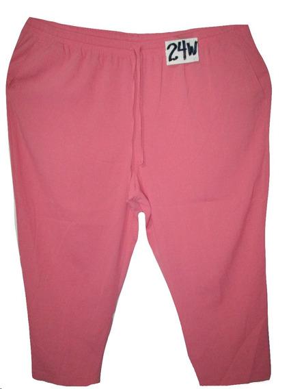 Pantalon Coral De Vestir Talla 24w ( 44w) Alfred Dunner