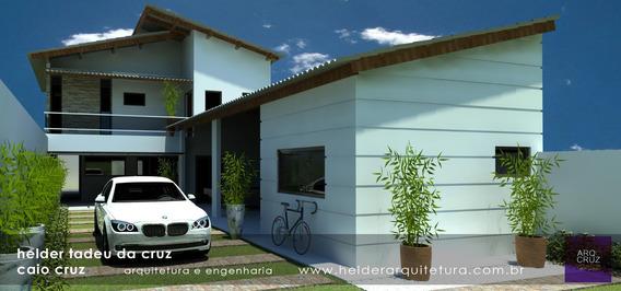 Casa Em Construção Com Terreno 10 X 50m , Excelente Bairro