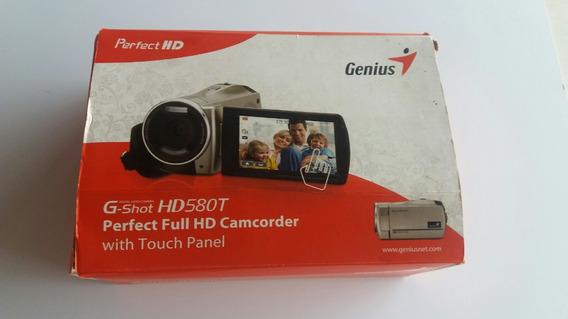 Filmadora Genius G-shot Hd580t Full Hd 1080p Portátil