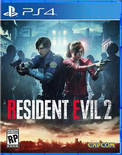Resident Evil 2 Ps4 Fisico Nuevo Sellado